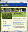 screen-shot: Sitesurfer Publishing launches revised site design for the Natural Playgrounds Company